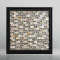 Beige Mother of Pearl and Glass Mosaic for Showers and Kitchen