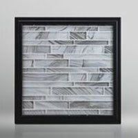 Onyx style glass backsplash for shower or kitchen