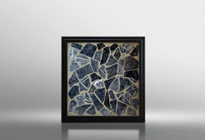 Black Mosaic Shower Floor